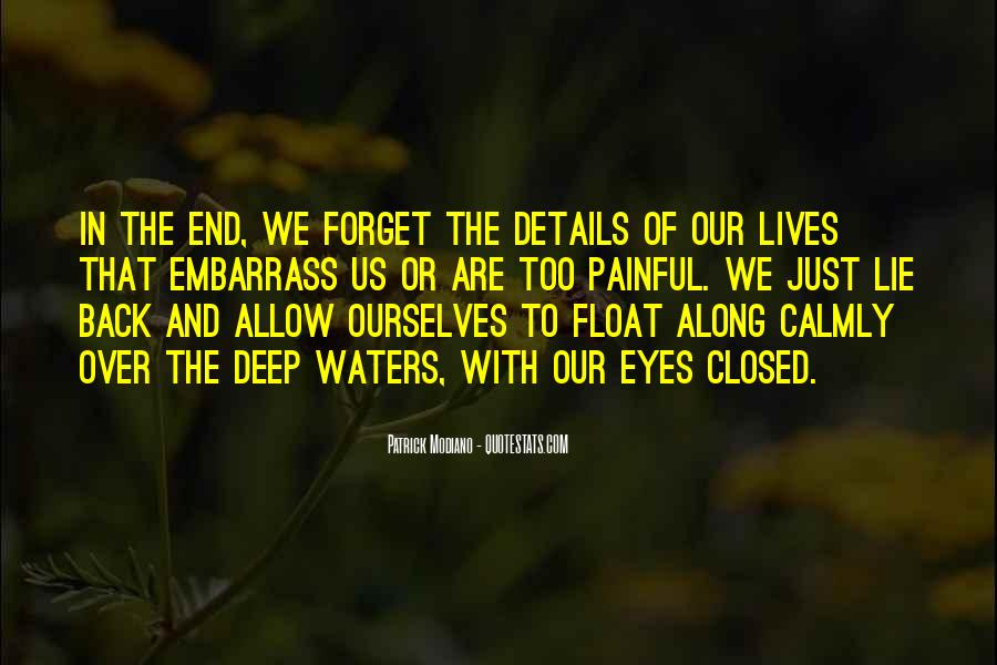 Quotes About The Deep End #295612
