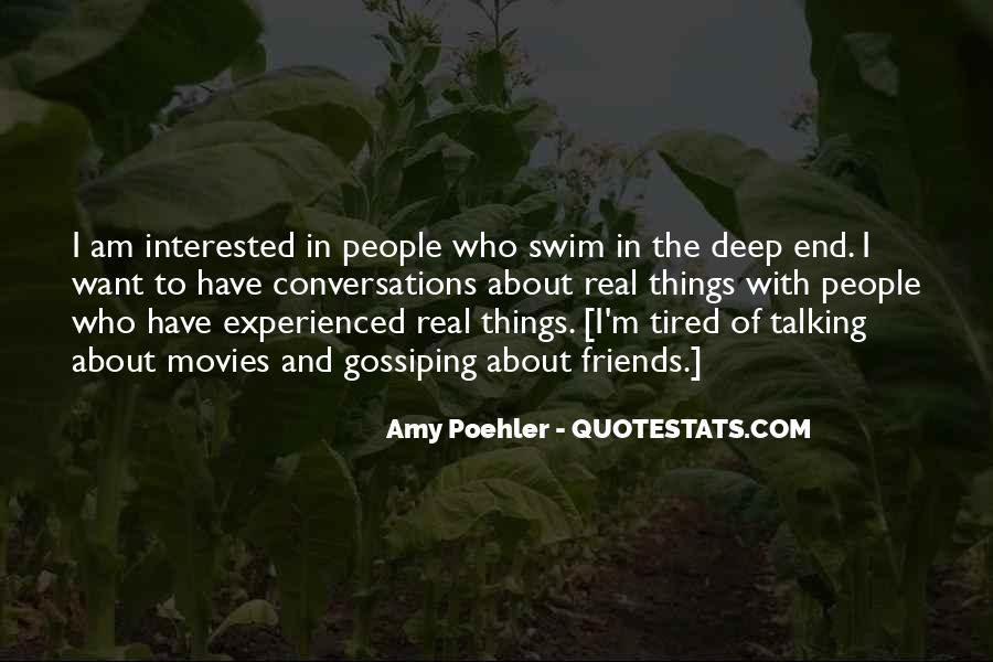 Quotes About The Deep End #300963