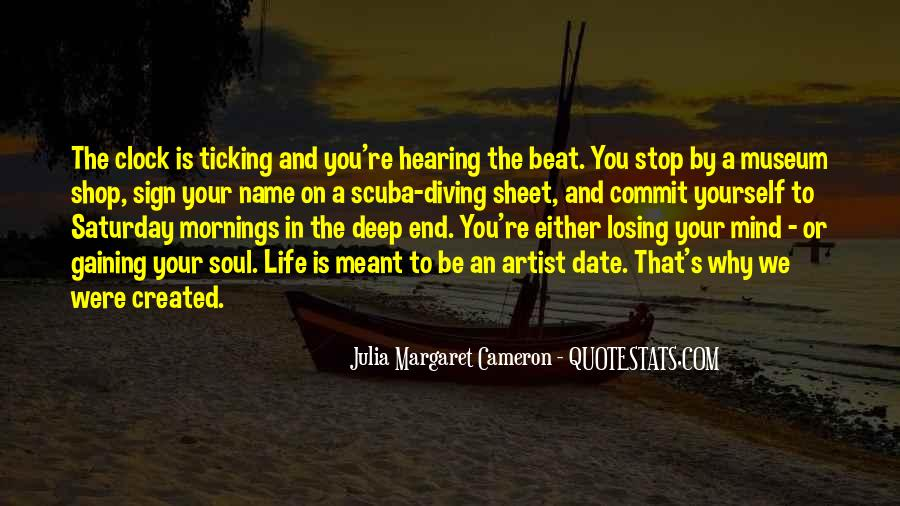 Quotes About The Deep End #771548
