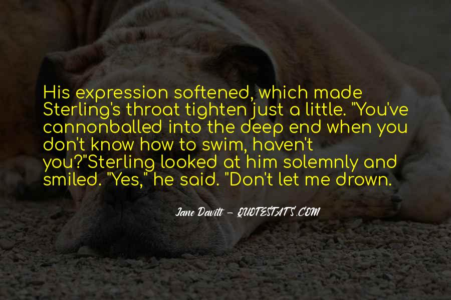Quotes About The Deep End #799482
