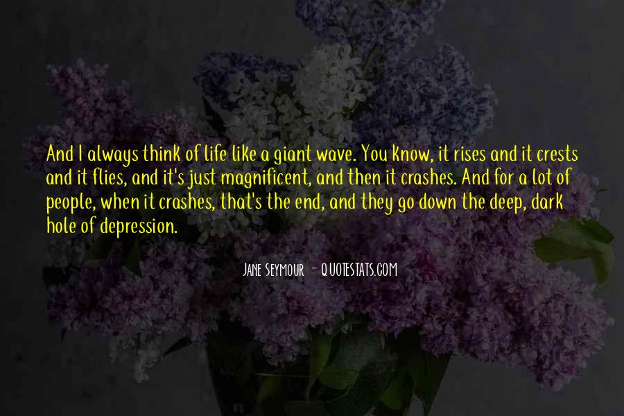 Quotes About The Deep End #87376