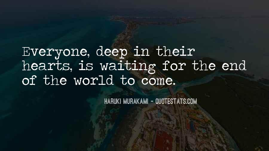 Quotes About The Deep End #962259