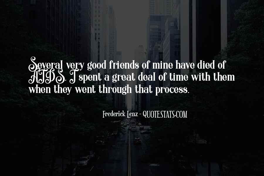 Had A Good Time With My Friends Quotes #474680