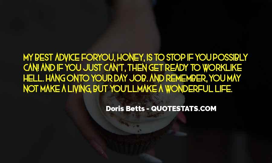 Had Wonderful Day Quotes #16085