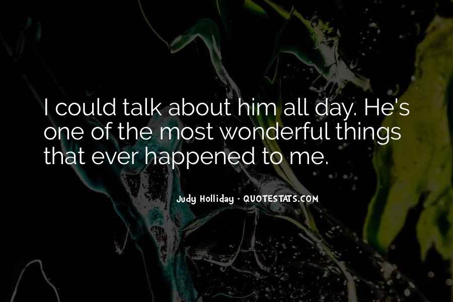 Had Wonderful Day Quotes #56770