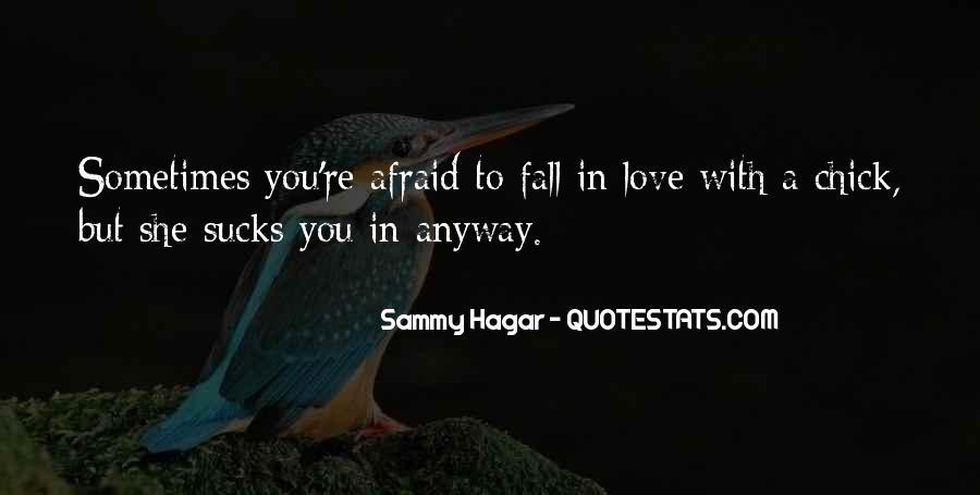 Hagar Love Quotes #712