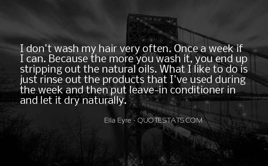 Hair Wash Quotes #115497