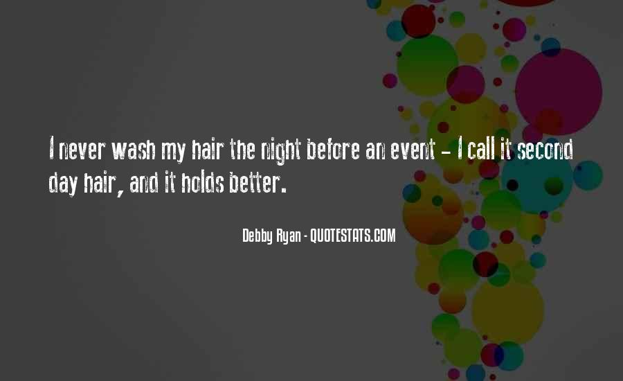 Hair Wash Quotes #1427019