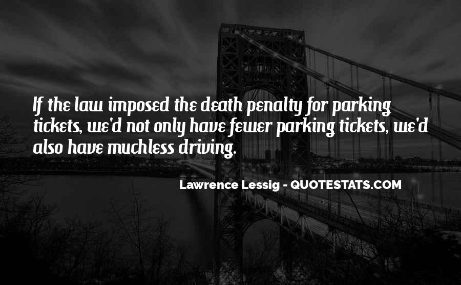 Quotes About The Death Penalty Con #105167