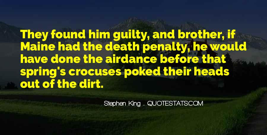 Quotes About The Death Penalty Con #125258
