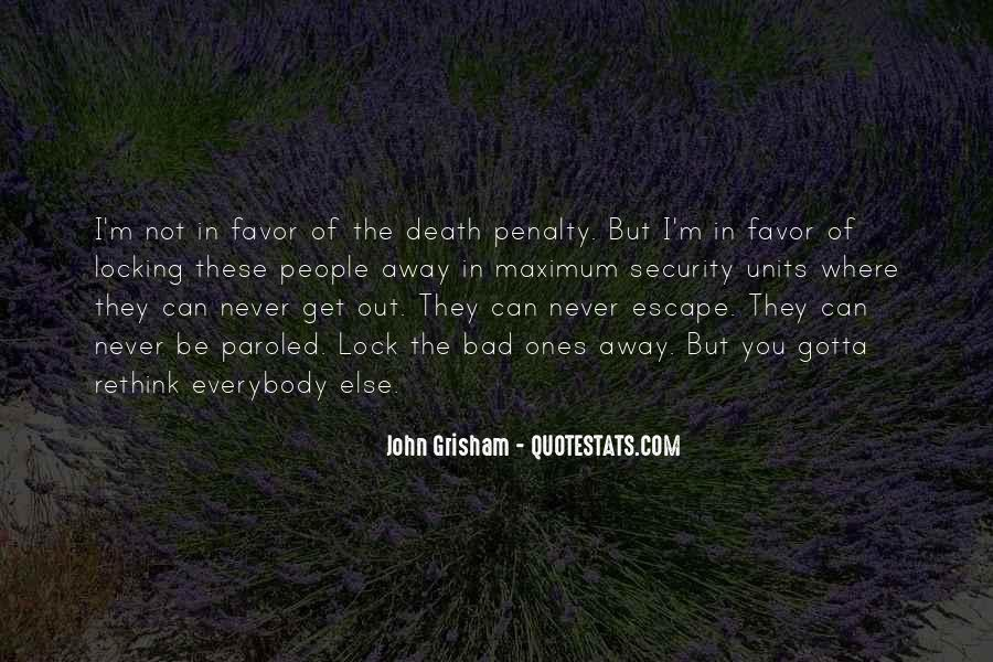 Quotes About The Death Penalty Con #185115