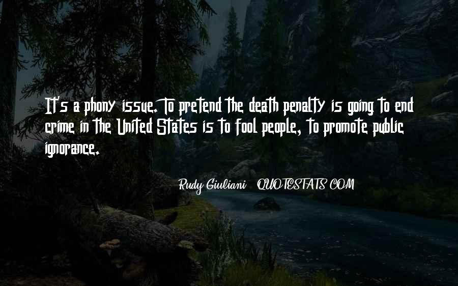 Quotes About The Death Penalty Con #185951