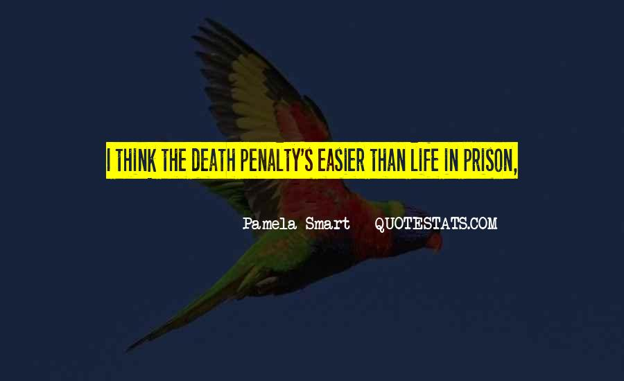 Quotes About The Death Penalty Con #205898