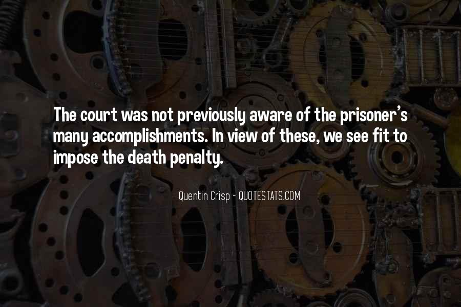 Quotes About The Death Penalty Con #29521