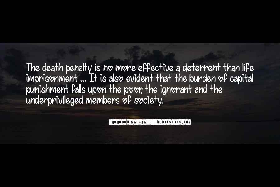 Quotes About The Death Penalty Con #41731