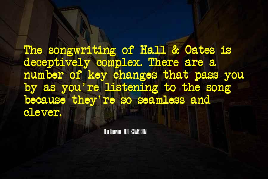 Hall & Oates Quotes #1778834