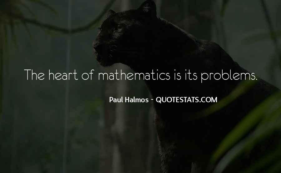 Halmos Quotes #1134968