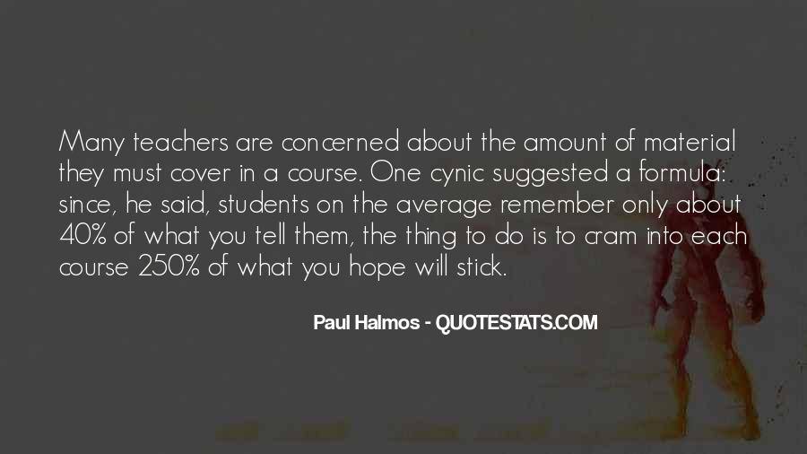 Halmos Quotes #1207134