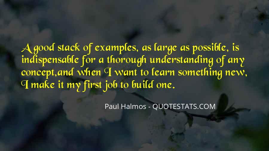 Halmos Quotes #1248545