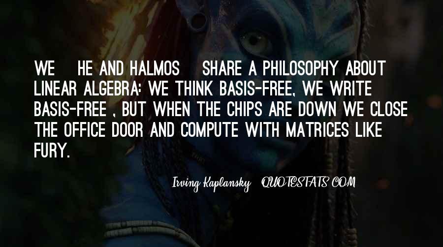 Halmos Quotes #1363154
