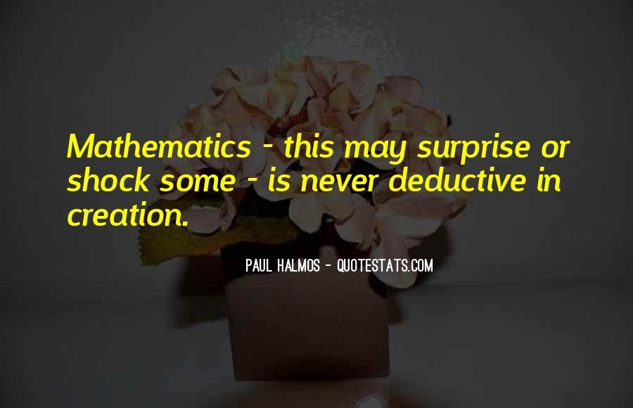 Halmos Quotes #155753