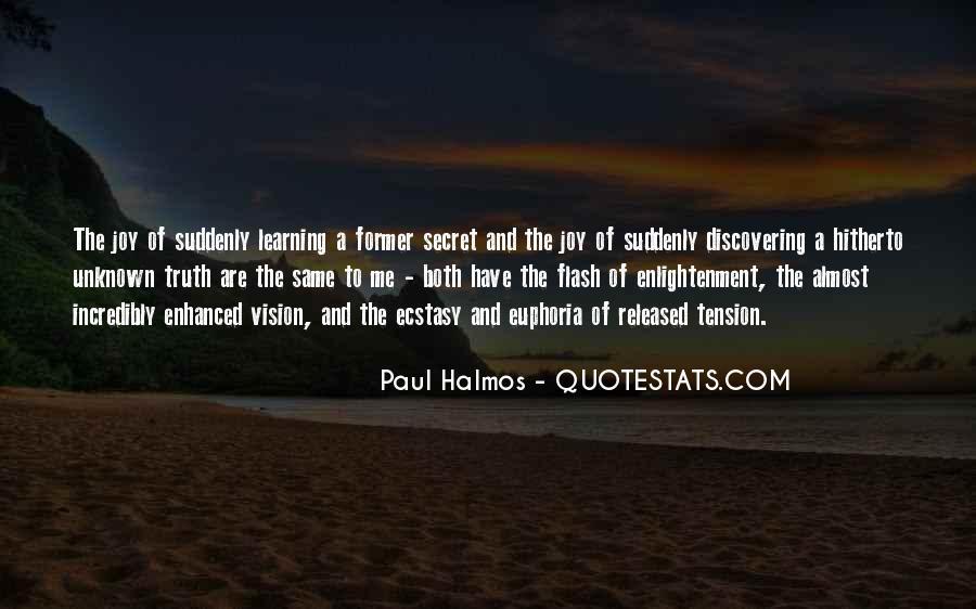 Halmos Quotes #1609700