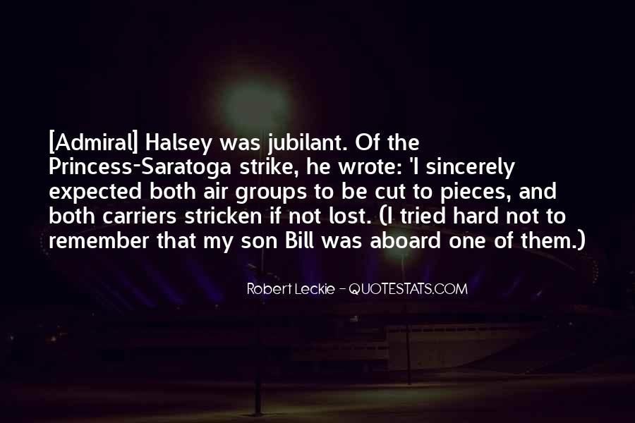 Halsey Admiral Quotes #806138