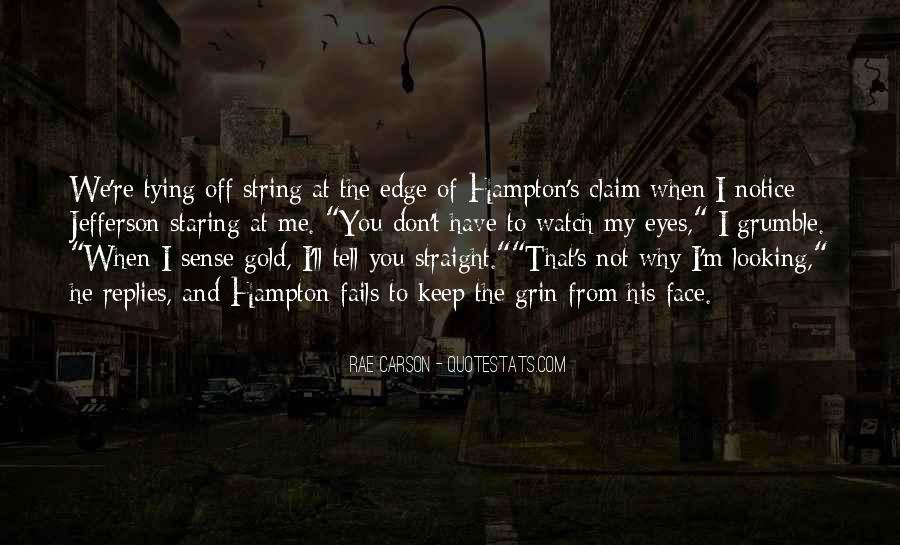 Hampton Quotes #251868
