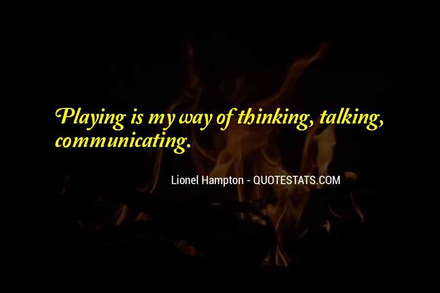 Hampton Quotes #522047
