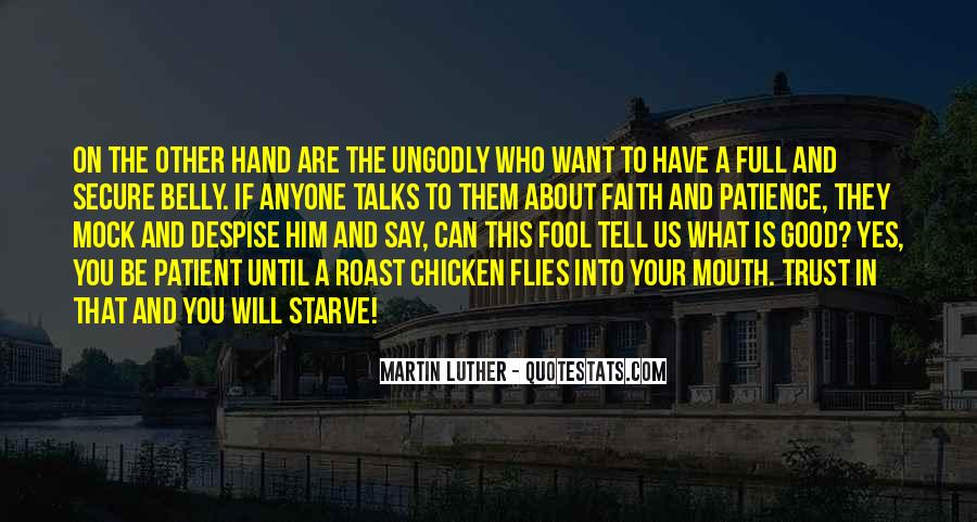 Hand To Mouth Quotes #1086340