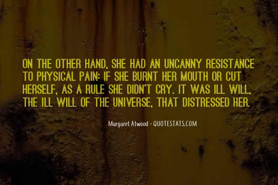 Hand To Mouth Quotes #1116470