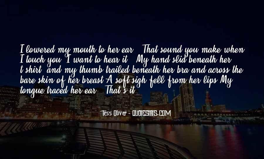 Hand To Mouth Quotes #1139157