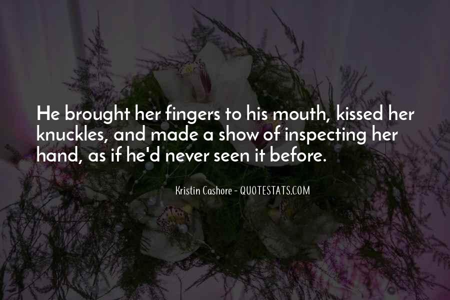 Hand To Mouth Quotes #1409141
