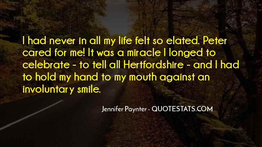 Hand To Mouth Quotes #204934