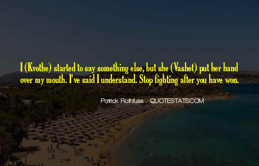 Hand To Mouth Quotes #364450