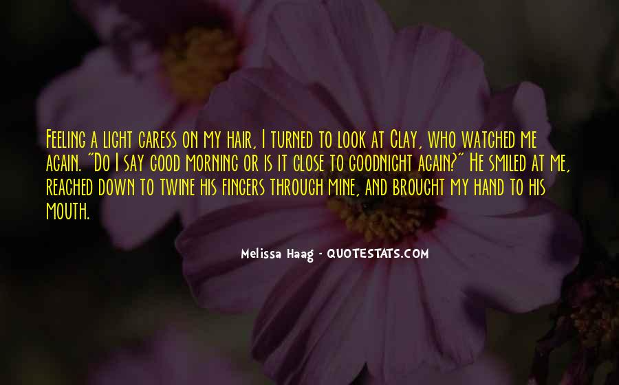 Hand To Mouth Quotes #405470
