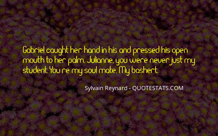 Hand To Mouth Quotes #501958