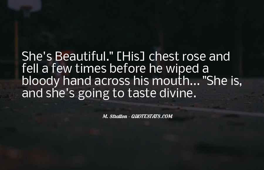 Hand To Mouth Quotes #629727