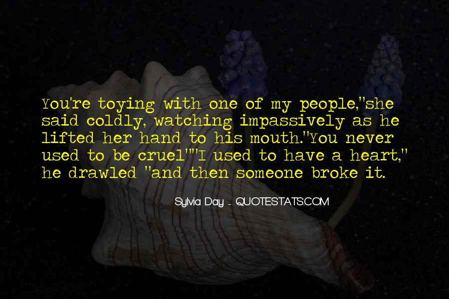 Hand To Mouth Quotes #8016