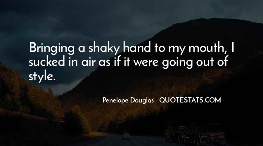 Hand To Mouth Quotes #922379