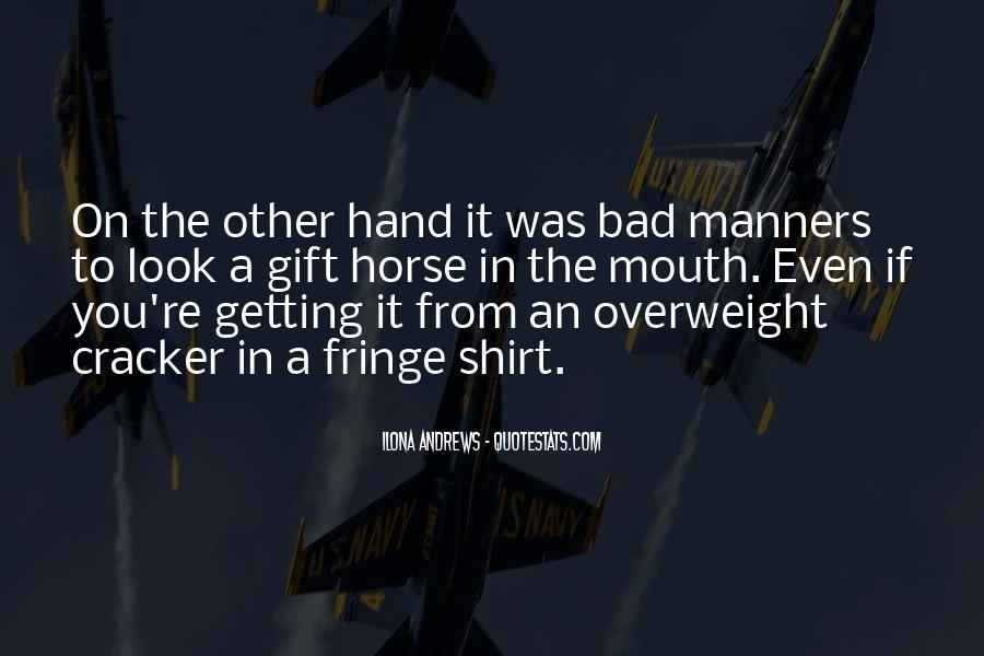 Hand To Mouth Quotes #955583