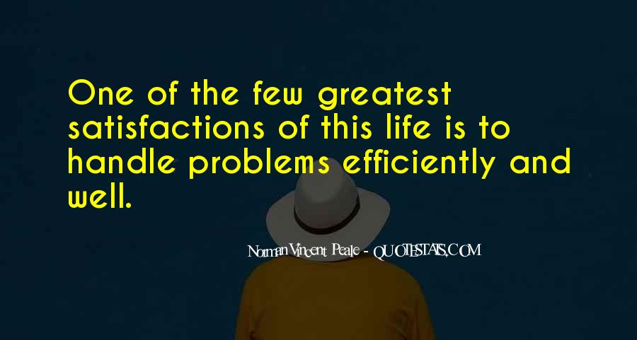 Handle Problems Quotes #1069440