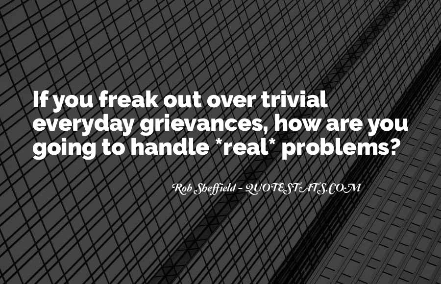 Handle Problems Quotes #1529633