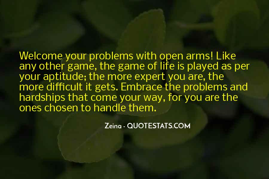 Handle Problems Quotes #1588464