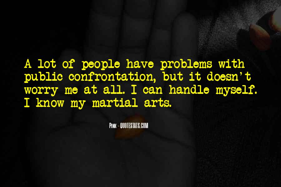 Handle Problems Quotes #297564