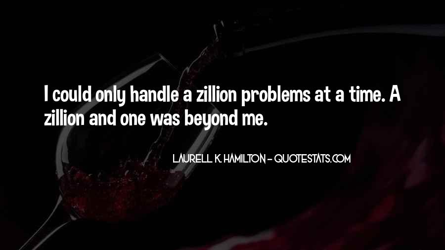 Handle Problems Quotes #35579