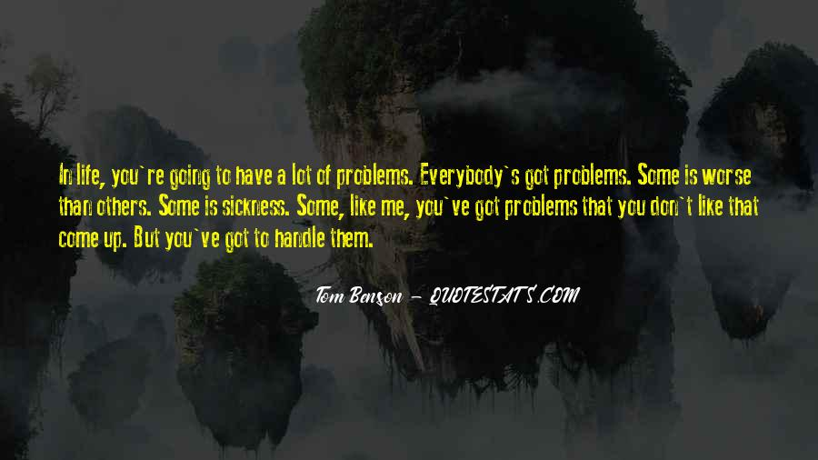 Handle Problems Quotes #974392