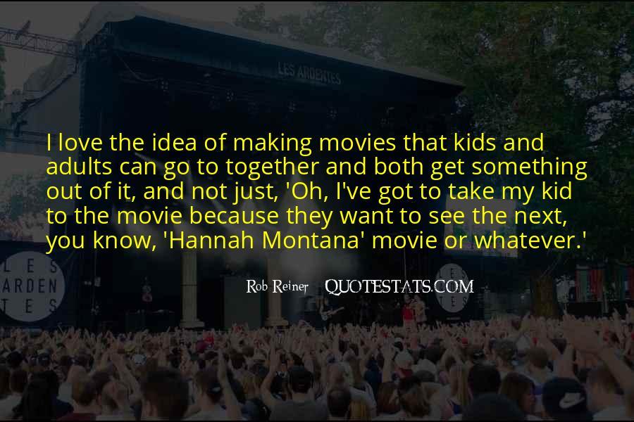 Hannah Montana Movie Quotes #98136