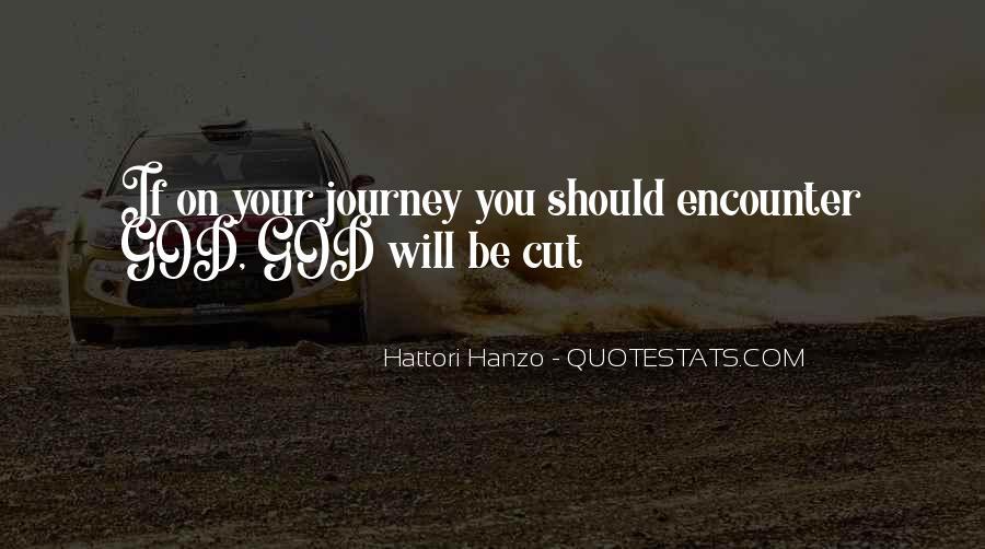 Hanzo Quotes #1502066