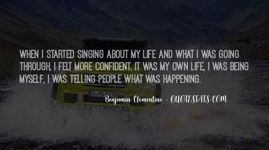 Happening Life Quotes #129263